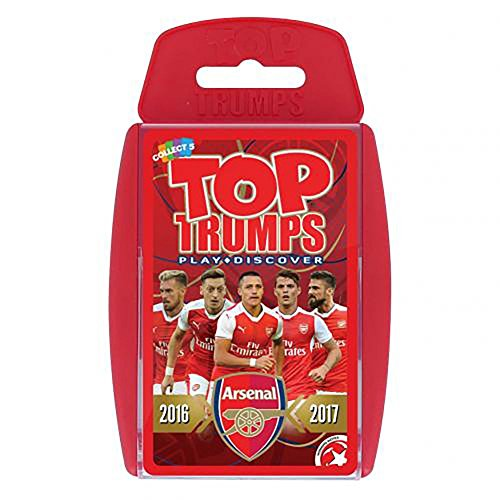 Price comparison product image Top Trumps - Arsenal F.C (2016/17)