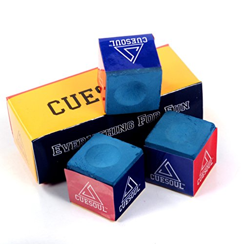 CUESOUL 3 Stück pro Karton Billard Kreide Snooker Billard Kreide