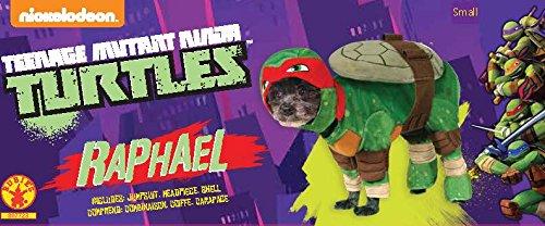 Image of Rubie's Official Raphael Teenage Mutant Ninja Turtles Pet Dog Costume