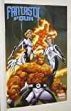 Marvel Poster Fantastic Four 91,4 x 61 cm Universe Comic Book Shop 2 : Mr Fantastic/Invisible Girl/Humain Torch/The Thing