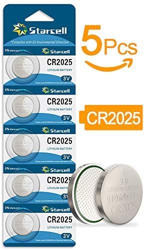 Gesetz 5 X Cr2025 2025 3V Lithium-Batterien für Auto-Fernbedienungen