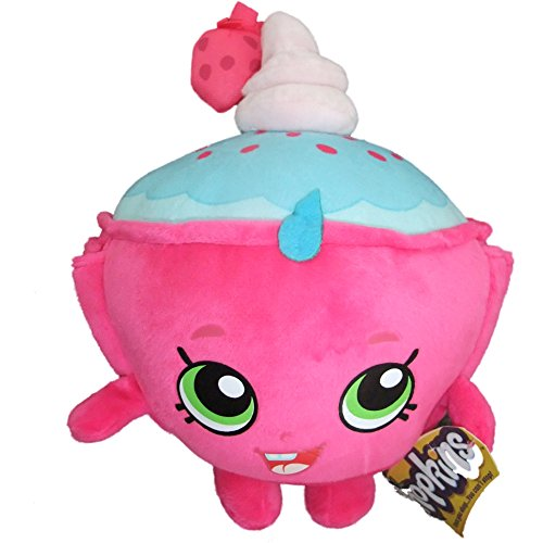"Shopkins Season 2 Cupcake Chic Pink Soft Toy 8"" Plush"