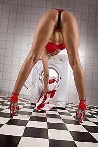 Prettiness Poster érotique Motif machine à laver