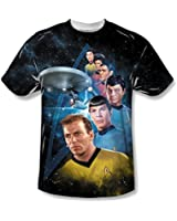 Star Trek Among The Stars Sublimated Adult T-Shirt