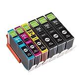 6 Packung GREENBOX Kompatibel HP 364 364XL Tintenpatronen Ersatz für HP Photosmart 6510 6520 5510 5515 5520 5522 6524 7510 7520 B8550 C5388 D5460,5525,7520,C5324,C5380,C6324,C6380,B8550, HP Officejet 4620 4622, HP Deskjet 3070A 3520 3524 3522( 3 Schwarz, 1 Cyan, 1 Magenta, 1 Gelb )