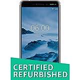 (CERTIFIED REFURBISHED) Nokia 6.1 (2018) (3GB + 32GB, White-Iron)