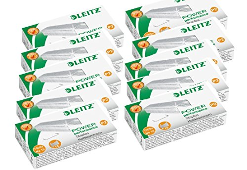 esselte-leitz-staples-number-10-zinc-plated-10000-10-x-pack-of-1000