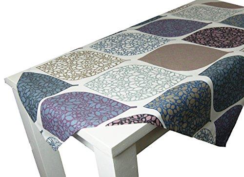 beties Momente Mitteldecke ca. 80x80 cm in interessanter Größenauswahl hochwertig & angenehm 100% Baumwolle Farbe (Hortensie) (Marokkanische Sofa Decke)