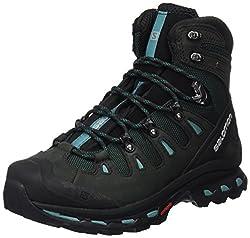 Salomon Women's Quest 4d 2 Gtx W Climbing Shoes, Multicolor (Asphaltgreen Blackhaze Blue), 5 Uk