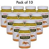 Herbal Hills Turmeric Powder - 100 Gms (Pack Of 10) - Anti-Inflammatory
