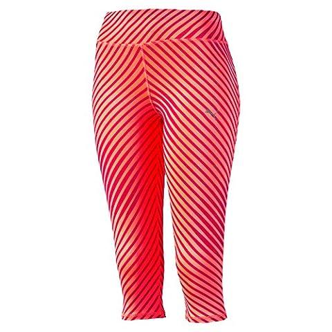 Puma PR Graphic Women's Capri Three Quarter Trousers, women's, Pr Graphic, red, XS