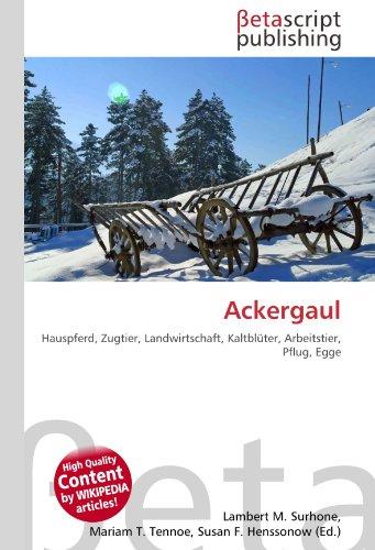 Ackergaul: Hauspferd, Zugtier, Landwirtschaft, Kaltblüter, Arbeitstier, Pflug, Egge