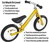 Cruzee GOLD – UltraLeicht Laufrad (1,9 kg) fur kinder ab 1.5 bis 5 Jahre - 3