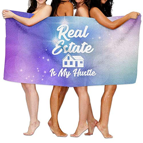 itruty Real Estate is My Hustle Over-Sized Cotton Beach Badehandtücher (Ab Real Estate)