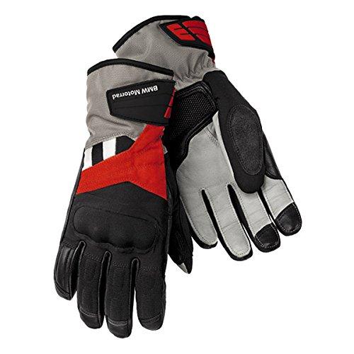 Preisvergleich Produktbild Handschuhe GS Dry Damen Leder / Textil Motorrad BMW Schwarz / Rot / Anthrazit 7, 5