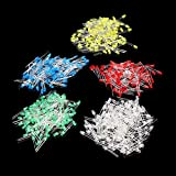 Bluelover 1000Pcs 3Mm Led Diode Kit Couleur Mixte Rouge Vert Jaune Bleu Blanc
