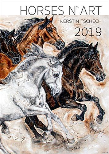 Pferdekalender 2019 - Pferde Kunstkalender von Kerstin Tschech