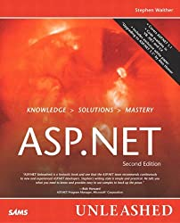 ASP.NET Unleashed by Stephen Walther (18-Jul-2003) Paperback