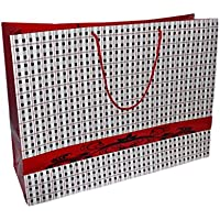"""Complete Retail Solution Ltd Papiertüten/Tüten für Brotzeiten, glänzend, Rot, 25 Stück, rot, 21""""X7""""X16.5"""" preisvergleich bei kinderzimmerdekopreise.eu"""