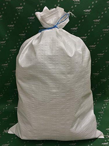 200 Hochwasser Sandsäcke / PP - Bändchengewebesäcke 40 x 60 cm + LanDixx Tüte