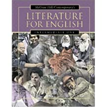 Literature for English: Intermediate One (High School Exit Exam Test Prep FL & TX) by Goodman, Burton (2002) Paperback