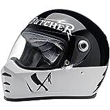 biltwell Lane Splitter Rusty Butcher Motorrad Helm (mehr Größe Optionen)