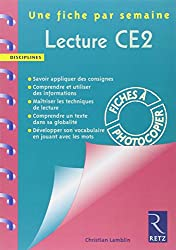 Lectures CE2