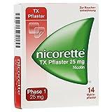 Nicorette TX 25 mg Pflaster, 14 St.