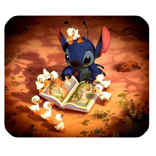 Cartoon Series Lilo & Stitch Rectangle Mouse Pads, Customized Mouse Pads, Office Mouse Pad
