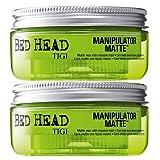 Tigi Bed Head Manipulator Matte Doppelpack 2 x 57,5 g Matte Styling-Paste mit starkem Halt zum Vorteilspreis