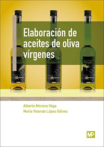 Portada del libro Elaboración de aceites de oliva vírgenes