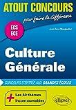 Culture Générale Concours d'Entrée aux Grandes ..