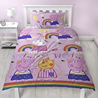 Peppa Pig Childrens/Girls Official Little Things Reversible Duvet Cover Bedding Set