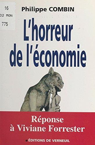 L'Horreur de l'économie