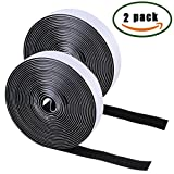 Best VELCRO Double Sided Tapes - Self Adhesive Sticky Velcro Tape ManYee 2 Pack Review