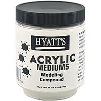 Hyatt's Acrylic Modeling Compound, 8 Ounce Bottle