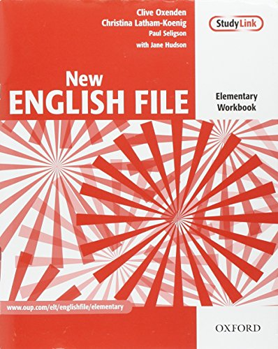 New English File: Elementary: Workbook: Six-level general English course for adults: Workbook Elementary level par Clive Oxenden, Christina Latham-Koenig, Paul Seligson, Jane Hudson