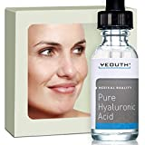 100% Pure Hyaluronic Acid Serum. ALL NATURAL, Medical Quality, Maximum Strength Daily Moisturizer. NO OTHER Product Offers More Active Ingredient. Attracts And HOLDS MOISTURE To Maximize Skin Hydration. Your Skin Will Be FULLER, PLUMPER, TIGHTER. Get Your Healthy Youthful Glow Back! GARANTI.
