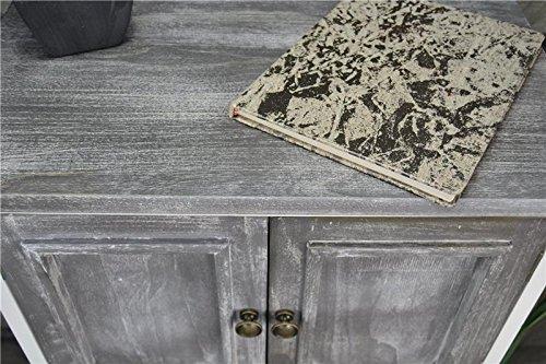 livitat kommode schrank landhaus shabby chic vintage barock grau lv1094 smash. Black Bedroom Furniture Sets. Home Design Ideas