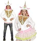 Einhorn Strickjacke Fabelwesen Pegasus Märchen Kostüm Unicorn (S/M) -