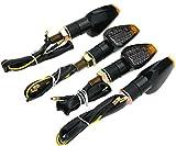 4 pz indicatori di direzione della moto a 12 LED, CD 12 V, frecce led moto,universale per Moto