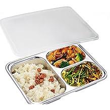 Amazon.es: bandejas con compartimentos para comida