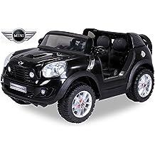 Kinder Elektroauto Lizenzierter Original BMW Mini Beachcomber Lizenziert 2 x 45 Watt Motor Elektro Kinderauto Kinderfahrzeug Spielzeug für Kinder Kinderspielzeug