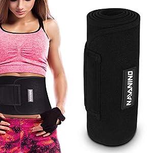 NAVANINO Fitness-Gürtel für Männer und Frauen Premium Fitness Gürtel Weichem