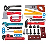 25 PCS Kinderspielhaus Spielzeug Simulation Repair Tool Koffer Toolbox Set