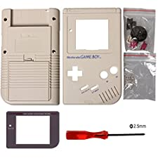 Timorn Case Cover sostituzione Housing Shell per Gameboy GB Console (Grigio)