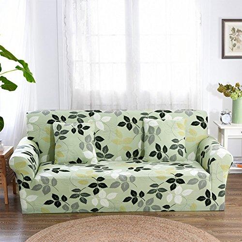 Copridivano per divano ad angolo con rivestimento in stoffa per stampa di fiori ssdlrsf copridivano ad angolo per copridivano con cuscino avvolgente in tessuto di spandex (145-180 cm), colore 5, tre posti