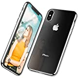 ZOVBR Coque iPhone XS Max, Ultra Fine TPU Silicone [Crystal Clear] Coque Etui Housse,...