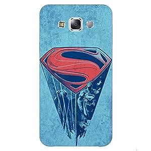 Jugaaduu Superheroes Superman Back Cover Case For Samsung Galaxy A5