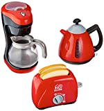 PlayGo Kaffeemaschine/Mein Toaster/Tea Time Wasserkocher Chef Kitchen Collection